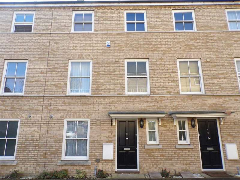 4 Bedrooms Terraced House for sale in Silk Street, Ipswich