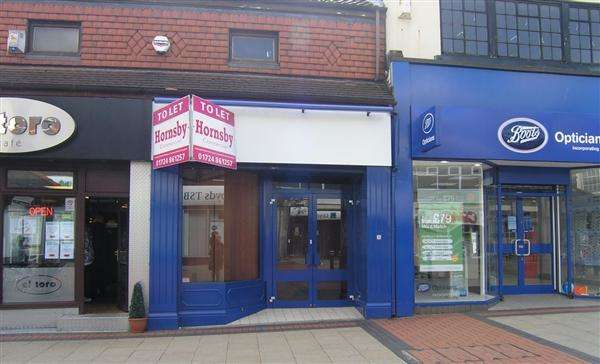 Commercial Property for rent in High Street, Scunthorpe