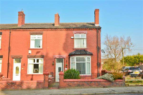 2 Bedrooms End Of Terrace House for sale in Manchester Road, Tyldesley