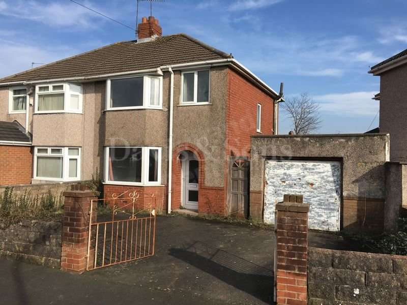 3 Bedrooms Semi Detached House for sale in Dorset Crescent, Off Nash Road, Newport. NP19 4QF