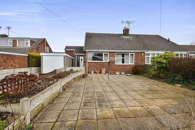 2 Bedrooms Semi Detached Bungalow for sale in Abbey Road, Kirkby-In-Ashfield, Nottingham, NG17