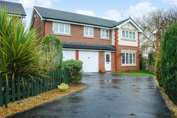 5 Bedrooms Detached House for sale in Fourways, Weston, Crewe, Cheshire