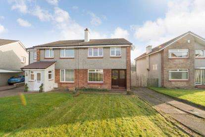 3 Bedrooms Semi Detached House for sale in Ben Lawers Drive, Paisley
