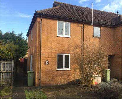 2 Bedrooms End Of Terrace House for sale in Washfields, Furzton, Milton Keynes