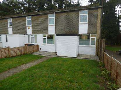 3 Bedrooms End Of Terrace House for sale in Windermere Way, Lake View, Northampton, Northamptonshire