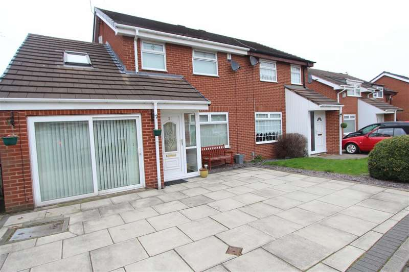 3 Bedrooms Semi Detached House for sale in Finch Lea Drive, Knotty Ash, Liverpool