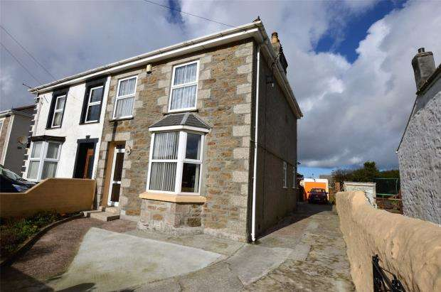 3 Bedrooms End Of Terrace House for sale in Agar Road, Illogan Highway, Redruth, Cornwall