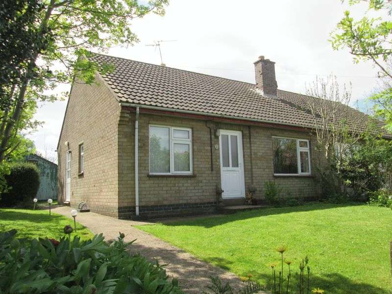 2 Bedrooms Semi Detached Bungalow for sale in Ashby Road, Welton, Daventry, NN11 2JS