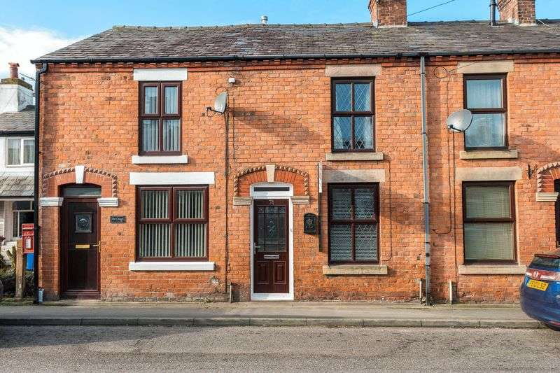 2 Bedrooms Terraced House for sale in Station Road, Croston