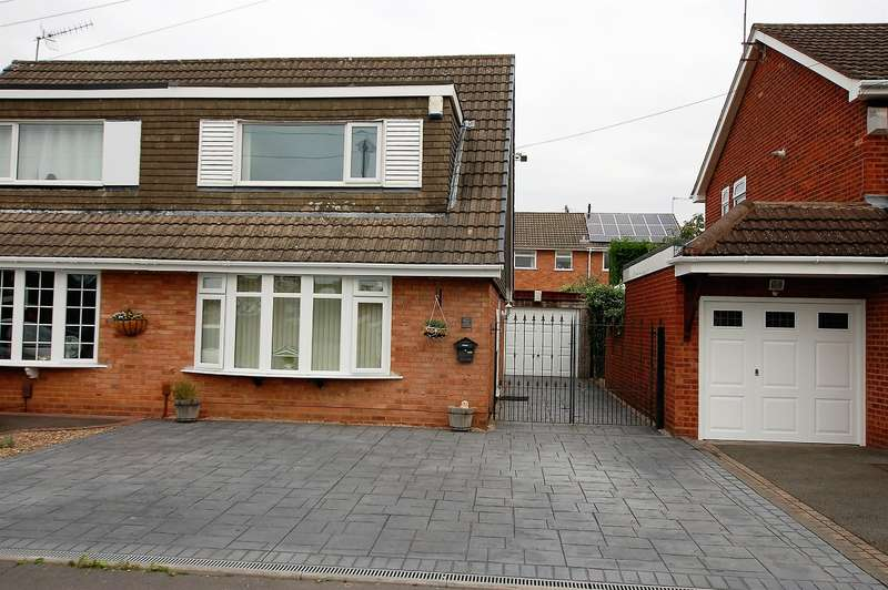 2 Bedrooms Semi Detached House for sale in Marine Crescent, Wordsley, Stourbridge, DY8 4XH