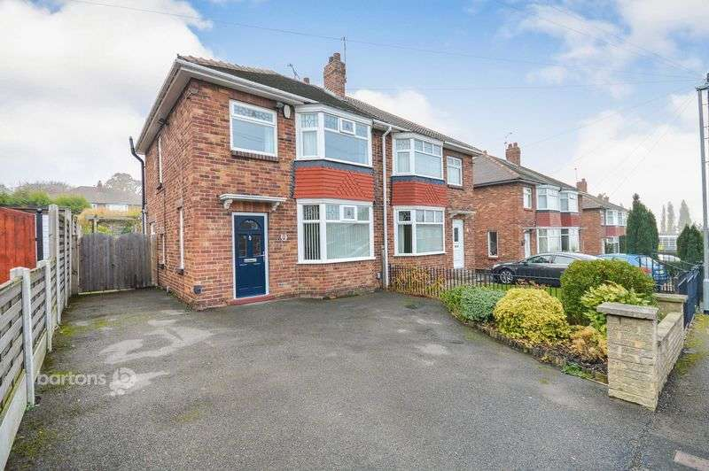 3 Bedrooms Semi Detached House for sale in Woodall Road South, Herringthorpe, Rotherham