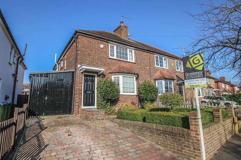 3 Bedrooms Semi Detached House for sale in Simmil Road, Claygate,