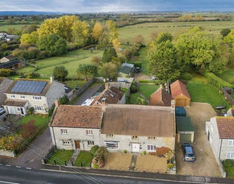 5 Bedrooms Semi Detached House for sale in Long Load, Somerset