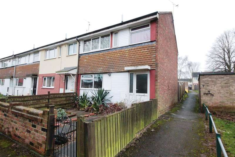 2 Bedrooms End Of Terrace House for sale in Prestwick Close, Strelley