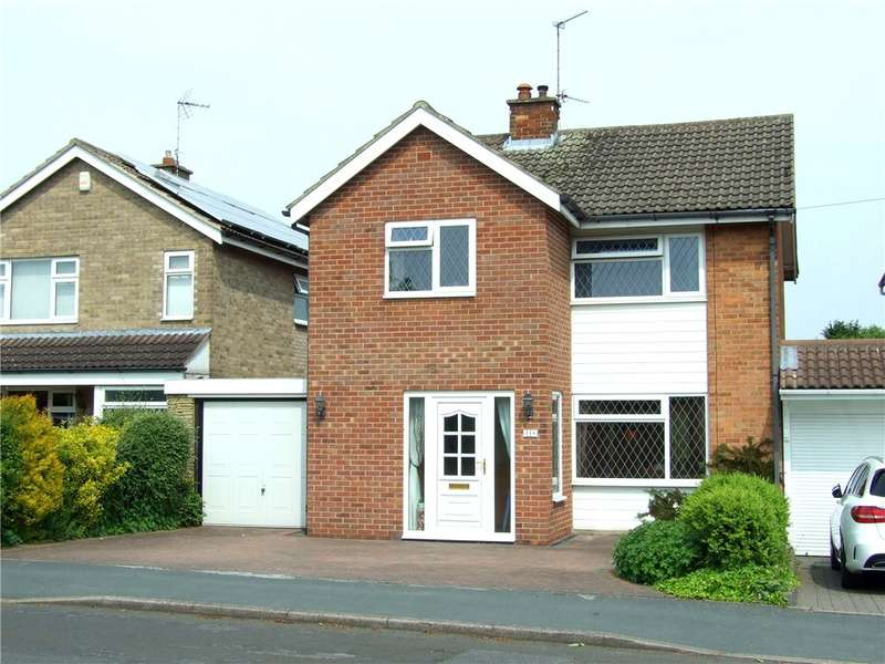 3 Bedrooms Detached House for sale in Carsington Crescent, Allestree, Derby, Derbyshire, DE22