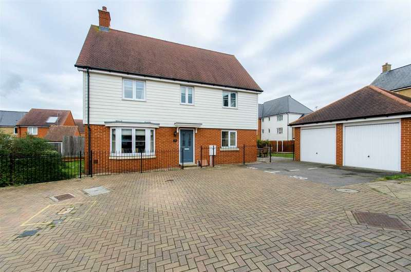 4 Bedrooms Detached House for sale in Iris Drive, Eden Village, SITTINGBOURNE