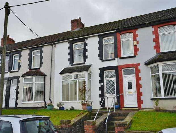 3 Bedrooms Terraced House for sale in Aberfawr Terrace, Abertridwr, CAERPHILLY