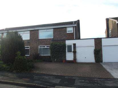 3 Bedrooms Semi Detached House for sale in Green Court, Esh, Durham, DH7