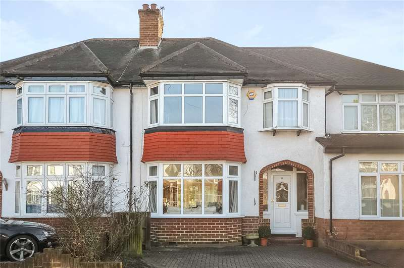 3 Bedrooms Terraced House for sale in Birkdale Avenue, Pinner, Middlesex, HA5
