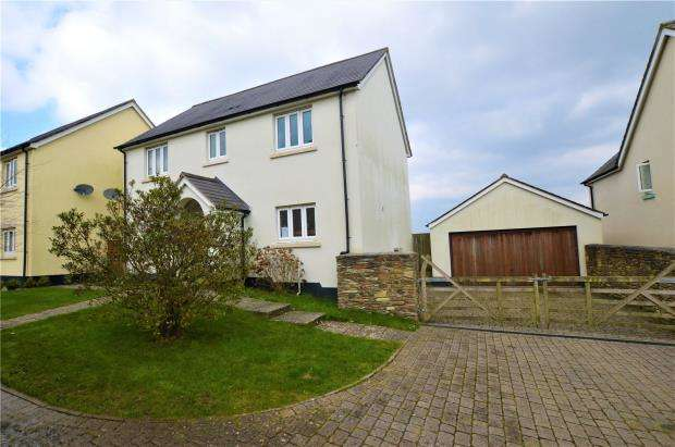 4 Bedrooms Detached House for sale in Townland Rise, Petrockstowe, Okehampton, Devon