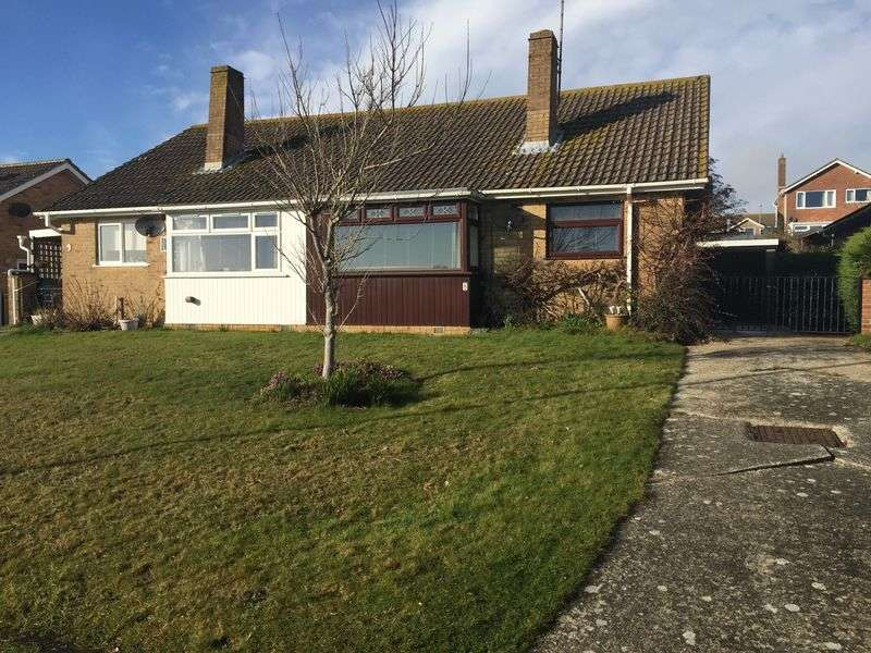 2 Bedrooms Semi Detached Bungalow for sale in Reed View Close, Weymouth