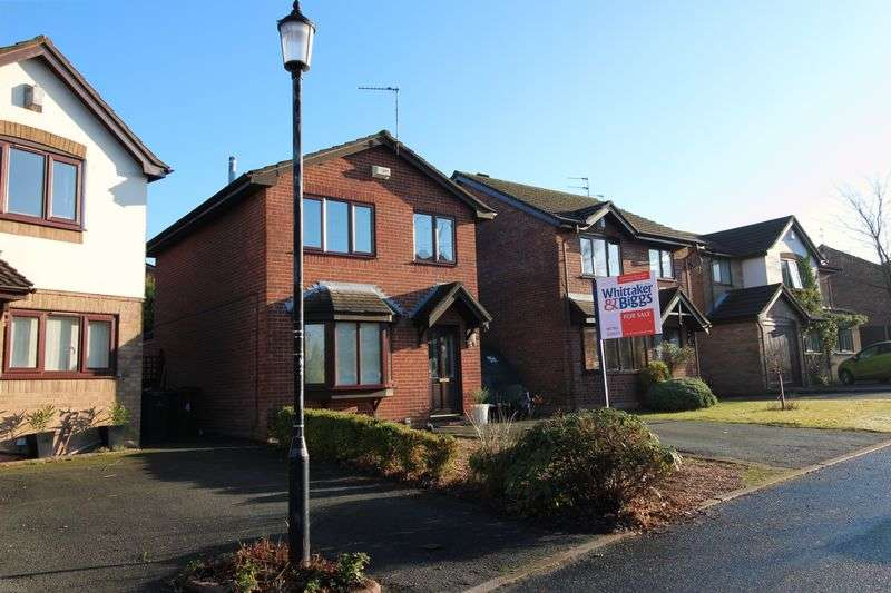 3 Bedrooms Detached House for sale in Swift Drive, Biddulph, Staffordshire, ST8 7TX