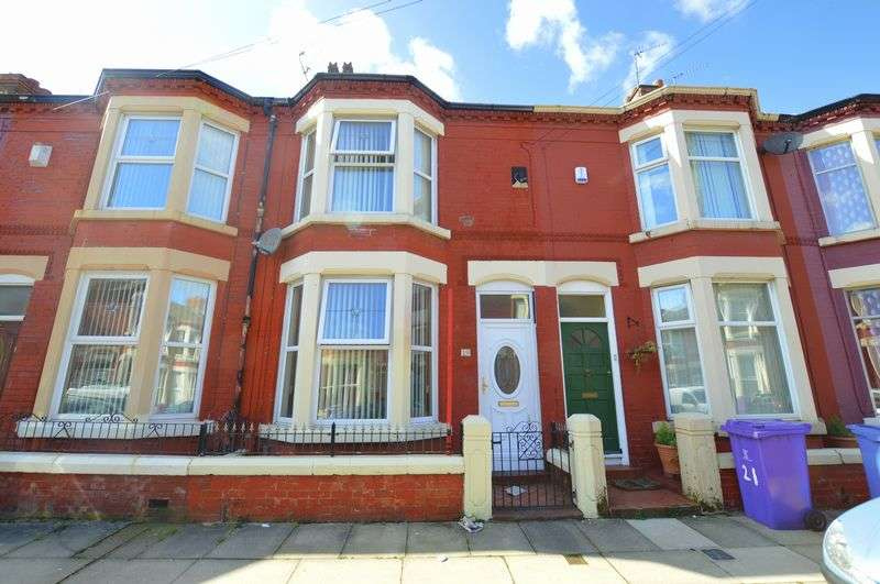 3 Bedrooms Terraced House for sale in Liscard Road, Wavertree