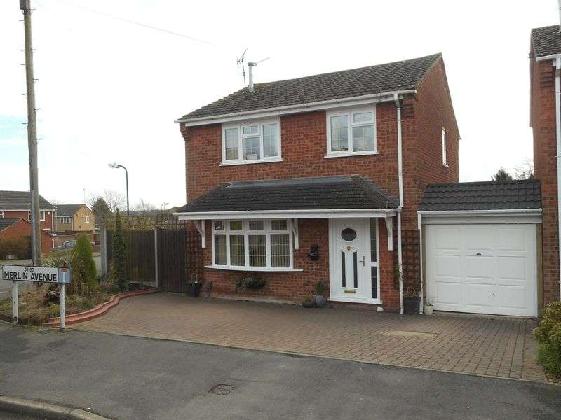 3 Bedrooms Detached House for sale in Merlin Avenue, Nuneaton