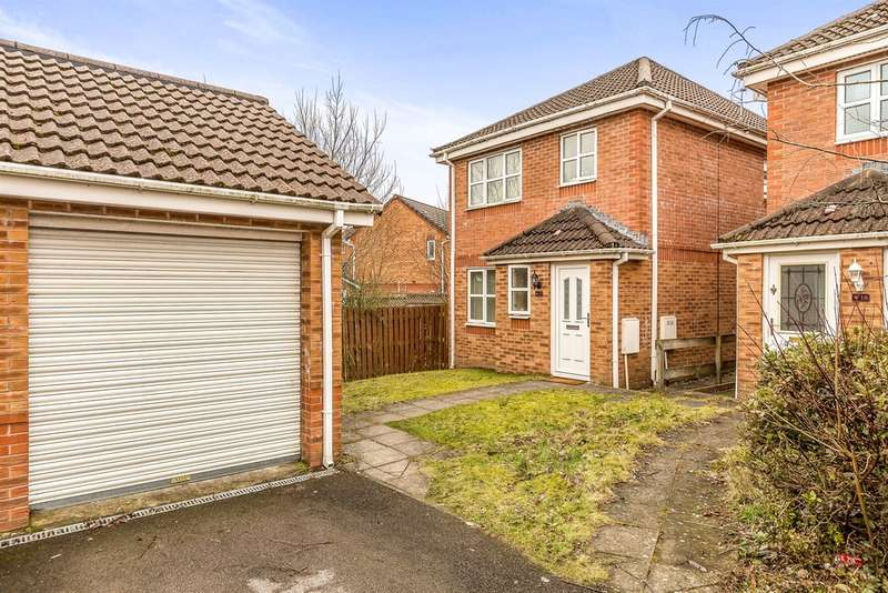 3 Bedrooms Detached House for sale in Dan Y Parc View, Incline Top, Merthyr Tydfil