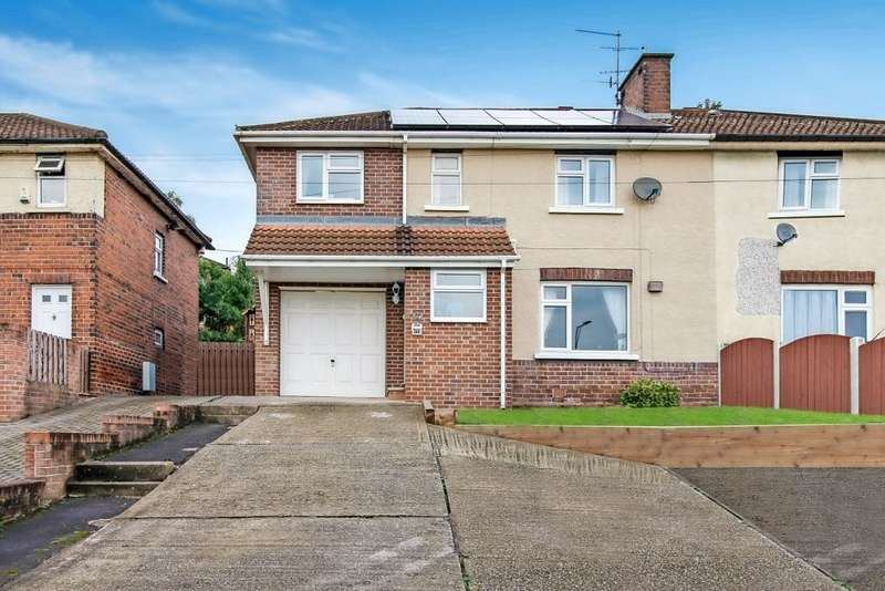 4 Bedrooms Semi Detached House for sale in Meadowbank Road, Meadowbank, Rotherham, South Yorkshire, S61 2NQ