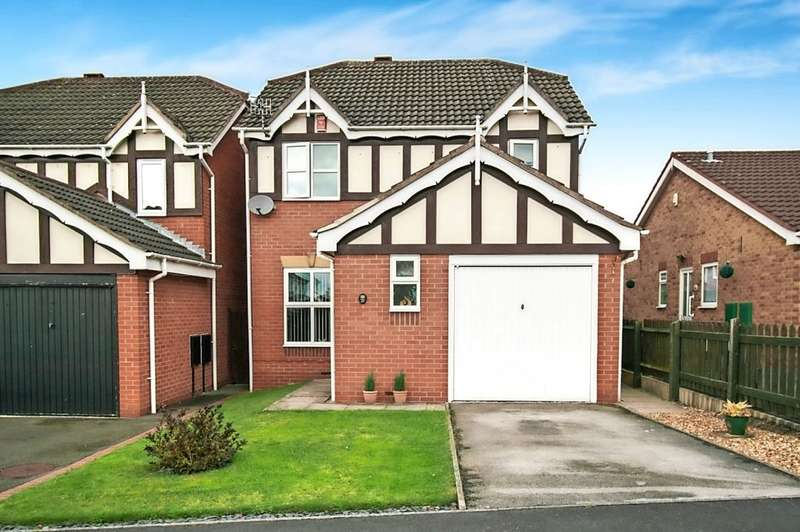 3 Bedrooms Detached House for sale in Salcombe Close, Newthorpe, Nottinghamshire NG16 2dQ