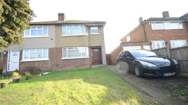 3 Bedrooms Semi Detached House for sale in Kentons Lane, Windsor, Berkshire