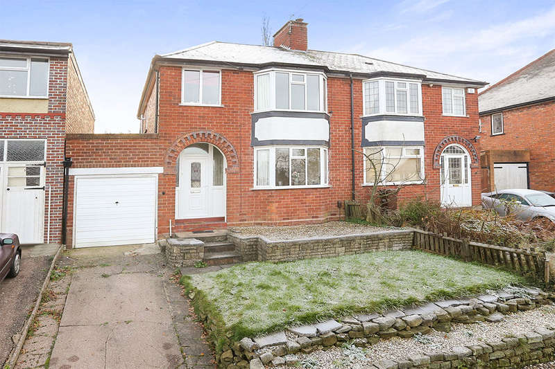 3 Bedrooms Semi Detached House for sale in Lytton Avenue, Wolverhampton, WV4