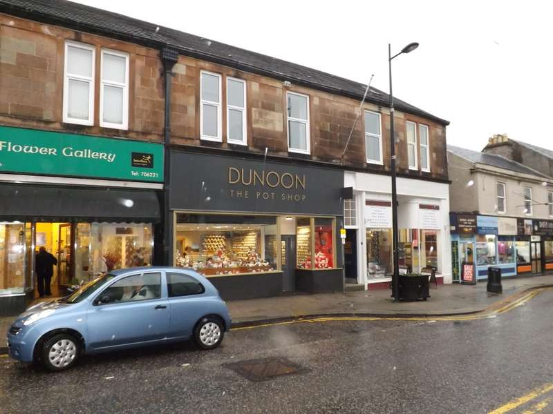 Commercial Property for sale in 162 Argyll Street, Dunoon, PA23 7NA