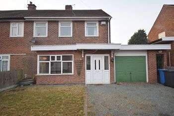3 Bedrooms Semi Detached House for sale in Tewkesbury Crescent DERWENT DE21 4EP