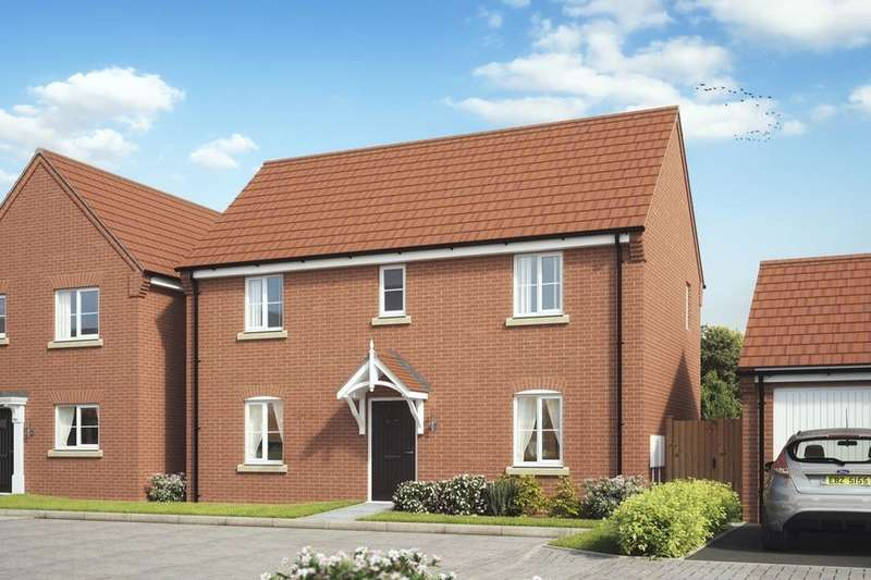 3 Bedrooms Detached House for sale in Newfield Rise New Street, Measham, Swadlincote, DE12