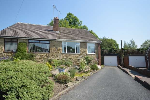 3 Bedrooms Semi Detached Bungalow for sale in Rectory Drive, Kirkheaton, HUDDERSFIELD, West Yorkshire