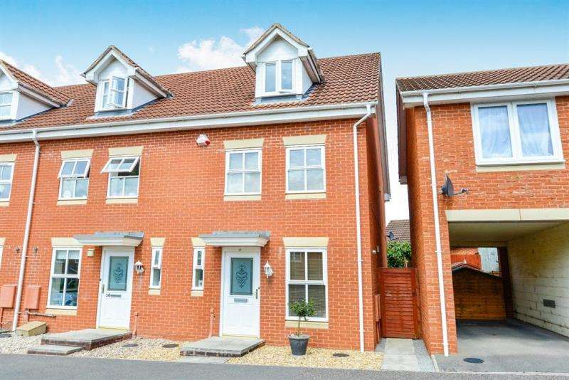 3 Bedrooms End Of Terrace House for sale in Stutts End, Cotford St. Luke, Taunton, Somerset, TA4 1NX