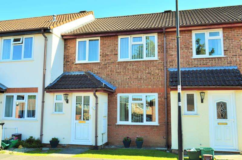 3 Bedrooms Terraced House for sale in 4 Barrington Close, Taunton, Somerset, TA1 4YD