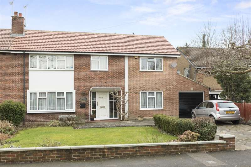 4 Bedrooms Semi Detached House for sale in Couchmore Avenue, Esher, Surrey, KT10