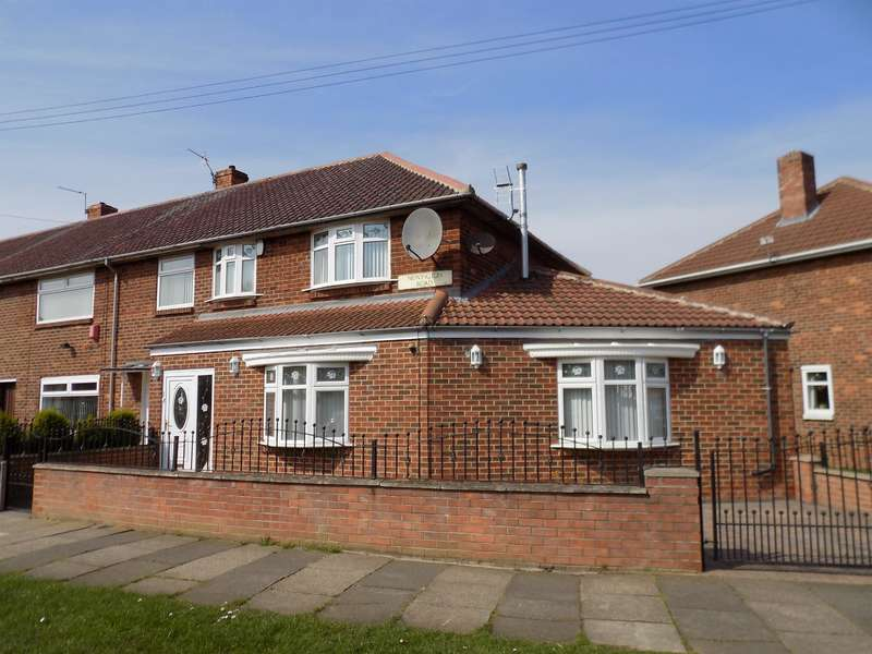 4 Bedrooms Semi Detached House for sale in Newington Road, Beechwood, Middlesbrough,TS4 3ED