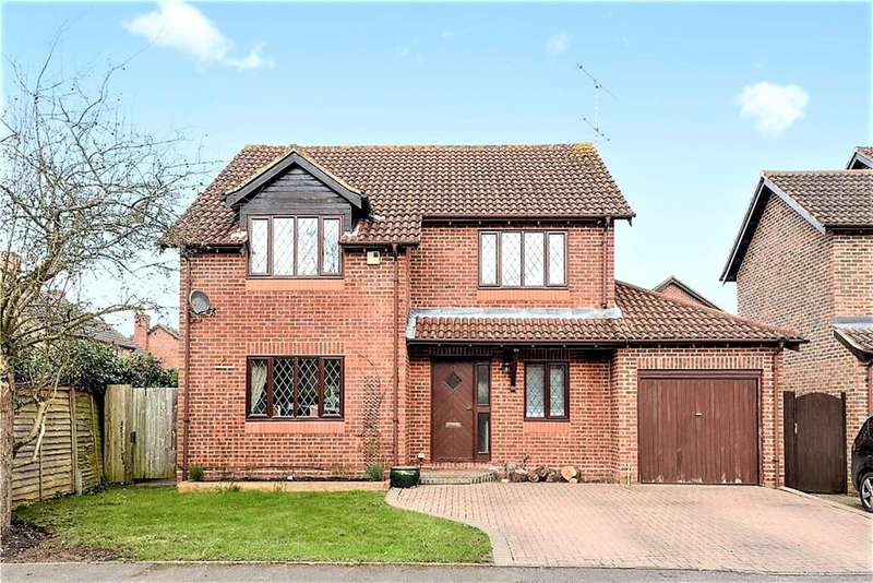 4 Bedrooms Detached House for sale in Carolina Place, Finchampstead, Wokingham, RG40 4PQ