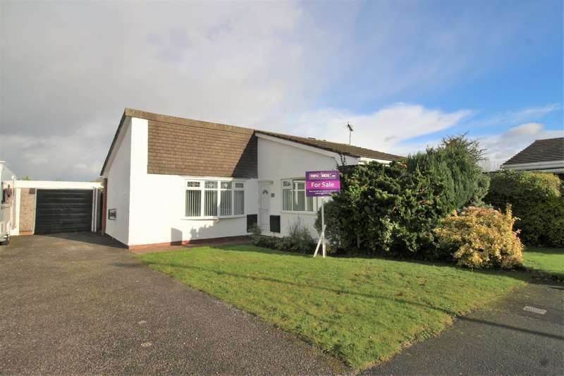 2 Bedrooms Detached Bungalow for sale in Allangate Close, Greasby, Wirral, CH49 3QN