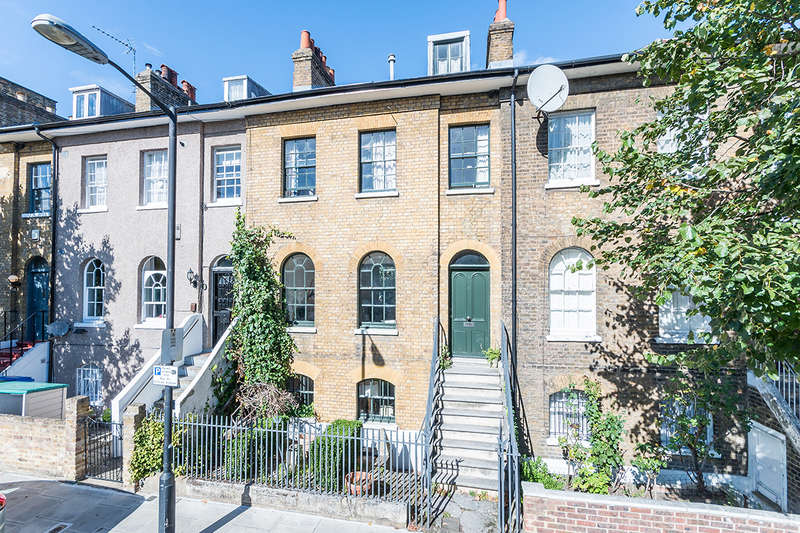 4 Bedrooms Terraced House for sale in Brunswick Villas, Camberwell, SE5