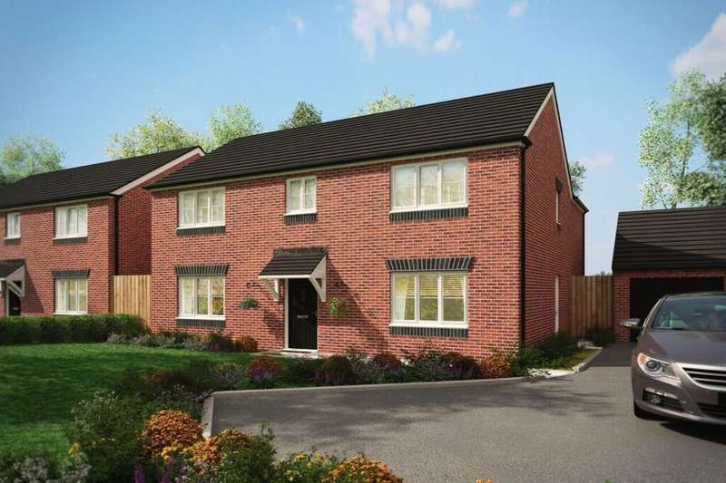 4 Bedrooms Detached House for sale in Sommerfeld Road, Hadley, Telford, TF1