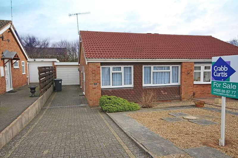2 Bedrooms Semi Detached Bungalow for sale in Sutherland Close, Warwick