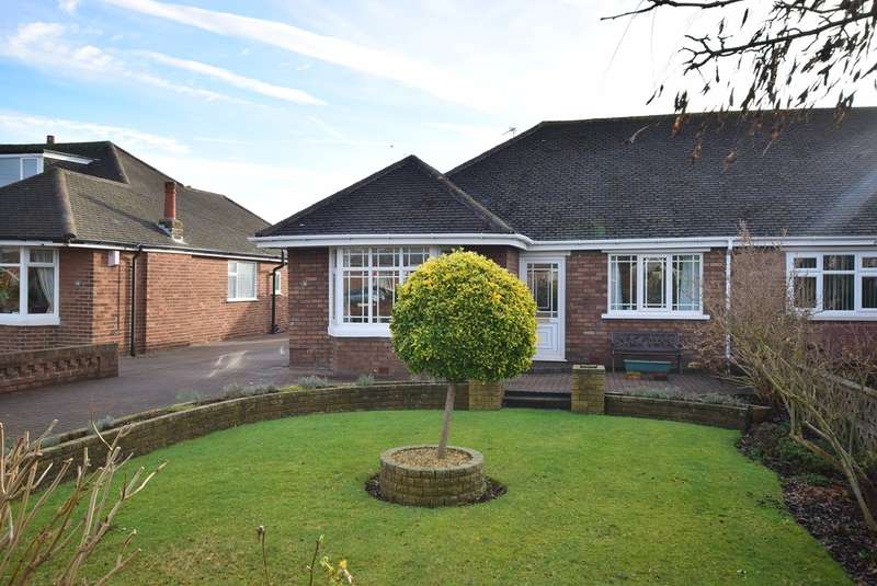 2 Bedrooms Semi Detached Bungalow for sale in Lowton Road, Lytham St Annes, FY8