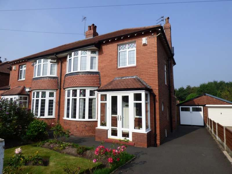 3 Bedrooms Semi Detached House for sale in Lyme Road Hazel Grove Stockport