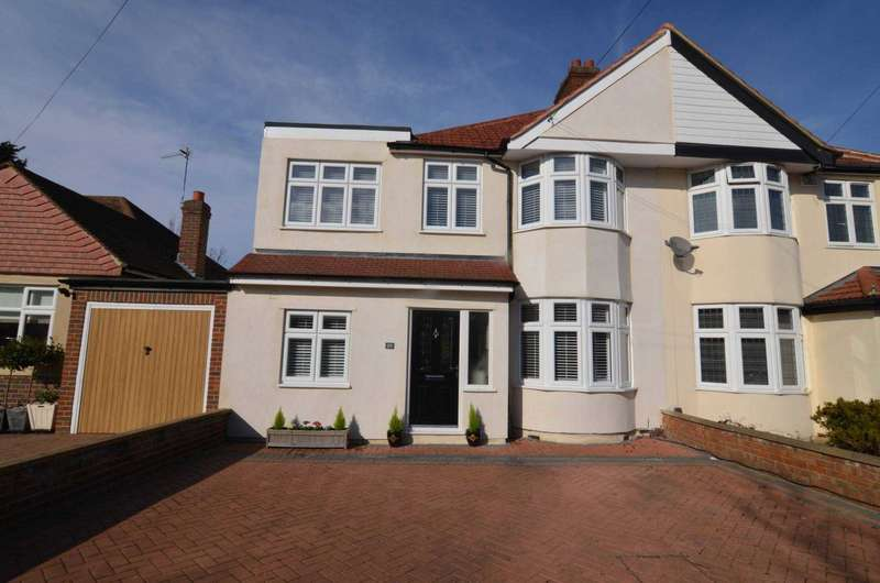 4 Bedrooms Semi Detached House for sale in Westbrooke Road, Sidcup, DA15 7PH