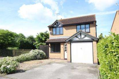 3 Bedrooms Detached House for sale in Millbeck Close, Gamston, Nottingham, Nottinghamshire